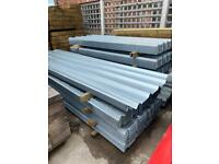 🔩 2.4/ 3M Box Profile Galvanised Roof Sheets - New