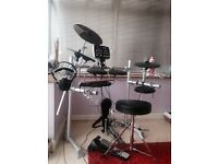 HXM electronic drum kit -excellent condition