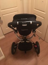 Pushchair - Quinny Buzz - Black and Silver