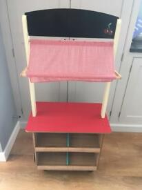 Child's Wooden cafe / market stall