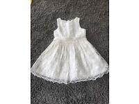 White dress wedding/summer