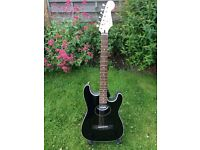 Fender Stratacoustic in Original Black Polish