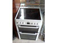 Beko double oven 2 years old