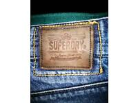 Men's superdry jeans very good condition 32 waist 32 leg.