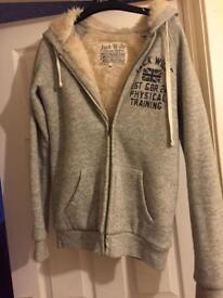 Jack wills women sheepskin hoodie size 10