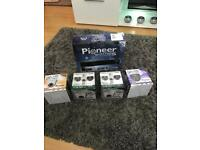Pioneer Security System 4 HD Cameras and HD Recorder