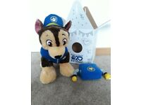 Paw Patrol Chase build a bear teddy