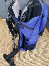 Bushbaby. Baby carrier with built-in bag. £40 ono