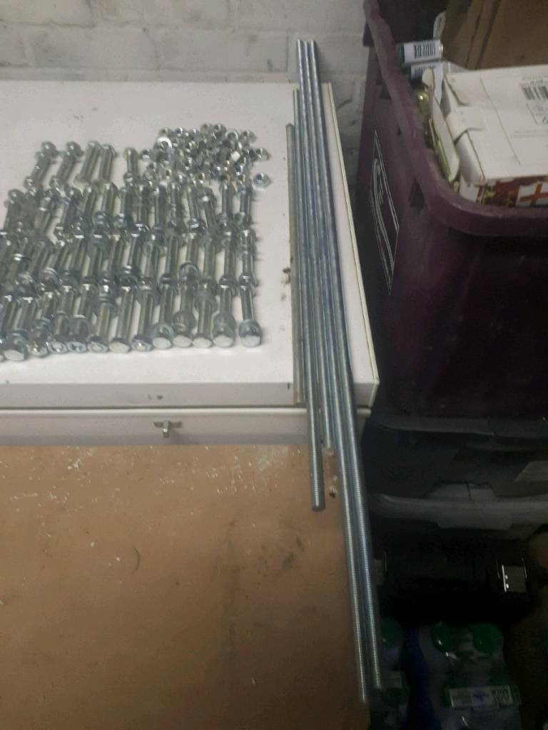 Nuts And Bolts Near Me >> Threaded Rods Nuts Bolts In Old Windsor Berkshire Gumtree