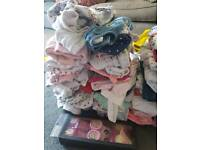 0 to 3 month old baby girls clothes
