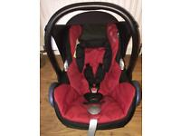 Maxi Cosi Car Seat (Red/Black)