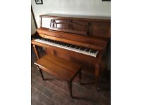Baldwin Piano and stool