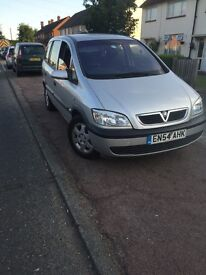 Vauxhall zafira 1.6 forsale
