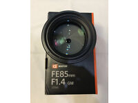 Sony FE 85mm f1.4 G Master GM Lens £1200 (New £1,649.00 Wex Photographic)