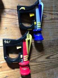 Power Ranger Guns