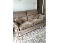 3 Seater settee with 2 arm chairs included