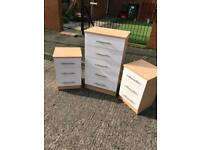 Chest of drawers and locker