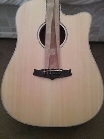 TANGLEWOOD ACOUSTIC GUITAR DPE DCE LS ELECTRO DREADNOGHT
