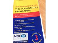 Oxford Handbook for the Foundation Programme 3rd Edition