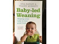 Baby led weaning book by Gill Rapley