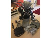 Oyster Max 2 Tandem/ Double Pram