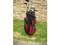 Superb Set Of Golf Clubs + Trolley