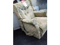 Exdisplay riser recliner electric chair