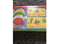 For Sale - Curious George Story book and CD's