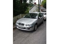 Rover 25 with mot