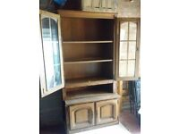 Solid furniture,vintage door cupboard