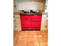 2 OVEN AGA COOKER`S IN ANY COLOUR, GAS /OIL/ 13AMP ELECTRIC FULLY RECONDITIONED 5 YR GUARANTEE