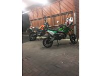 125cc road legal pitbike