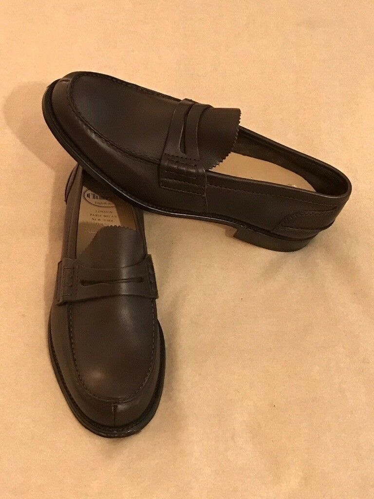 c768a3eaea7 New Churchs Pembrey Loafers Shoes in Brown Leather England Northampton UK 10  EU 44 RRP £475