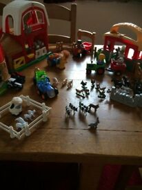 Fisher-Price Little People Toy Farm Bundle