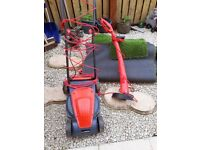 Sovereign lawnmower and strimmer