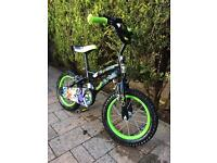 Boys bike suitable for ages 4, 5, & 6. Really good condition.
