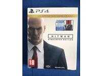 Brand new HITMAN STEELBOOK EDITION PS4