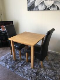 Ex Berry's sold wood dining set
