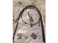 Brompton brake cables x2 front and rear