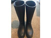 Crocs Wellington Boots - Black - UK Size 5