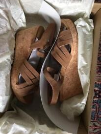 Ugg Wedges brand new size 6