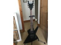 Dean Baby Z Powder Black Electric Guitar