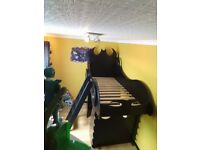 Kids batman bed