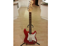 """""""Encore"""" red electric guitar"""