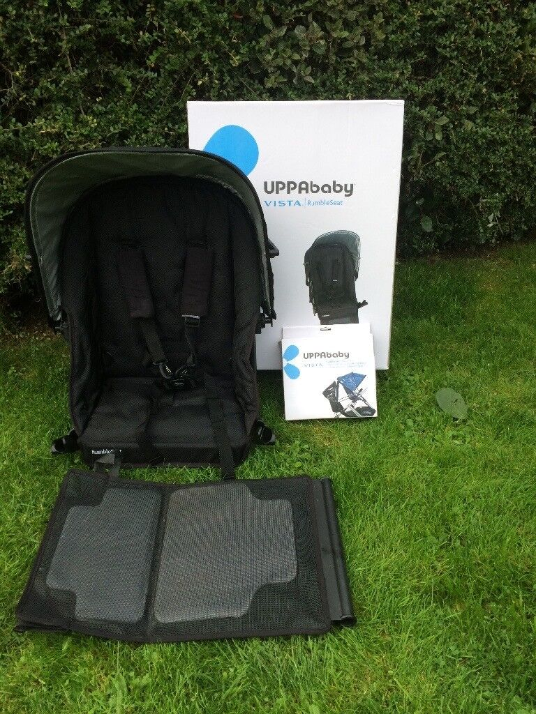 Uppababy - Rumble Seat - Black - Pre 2015
