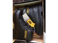 Caterpillar steel toe safety boots