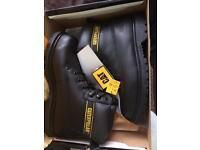 Caterpillar steel toe safety boots