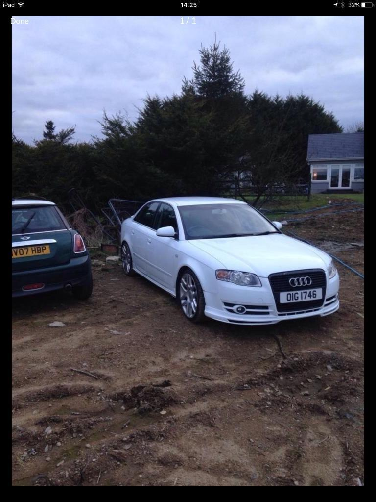 2007 Audi A4 parts breaking bcg