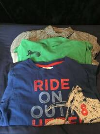 3 x boys long sleeved tops (age 10)