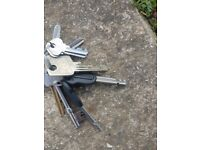 Set of keys found Epping Forest